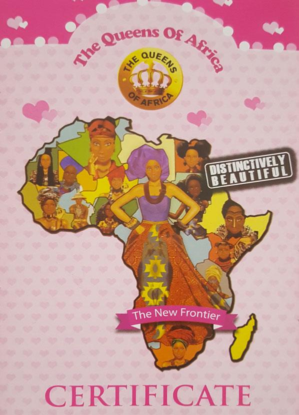 Certificat Queens of Africa